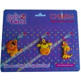 GIRLIE GIRLZ Single Side Charm for Pen or Pencil [TM 3330] - Craft